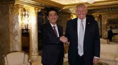 Mon qua cua Donald Trump cho Thu tuong Shinzo Abe - Anh 1