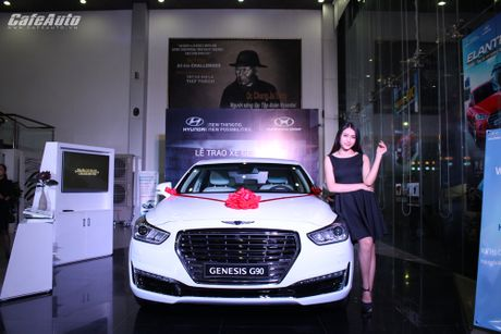 Hyundai Thanh Cong trao Genesis G90 cho Golf thu doat giai Hole In One - Anh 3