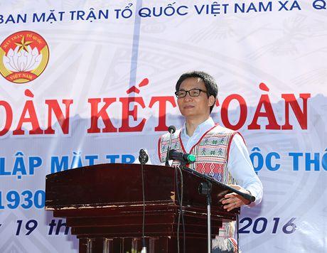 Pho Thu tuong Vu Duc Dam du Ngay hoi Dai doan ket tai Dak Nong - Anh 1