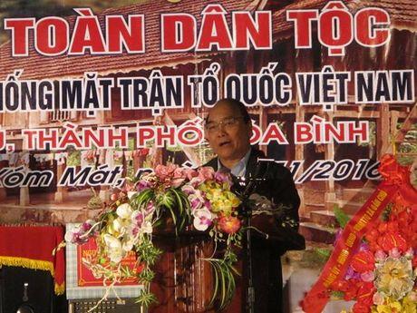 Thu tuong Nguyen Xuan Phuc du Ngay Hoi Dai doan ket toan dan toc - Anh 3