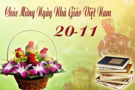 Nhung loi chuc y nghia tri an thay co ngay Nha giao Viet Nam 20/11 - Anh 1