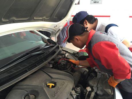 Bridgestone khoi dong chuoi su kien cham soc xe - Anh 5
