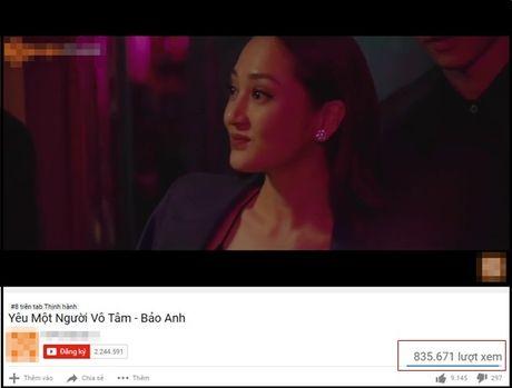 MV Bao Anh can moc luot xem an tuong sau hon 24 gio len song - Anh 1