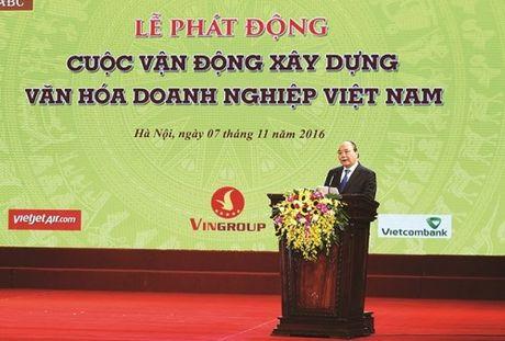 Thu tuong phat dong xay dung van hoa doanh nghiep - Anh 1