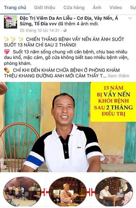 Benh nhan to phong kham Thieu Khang Duong loi dung hinh anh - Anh 1