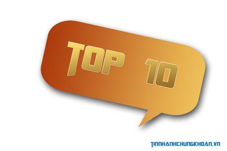 """Top 10 co phieu tang/giam manh nhat tuan: An tuong """"tan binh"""" - Anh 1"""