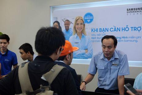 Samsung va Mai Nguyen mo cua hang o trung tam dac dia cua Sai Gon - Anh 8