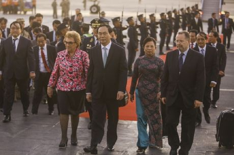 Chu tich nuoc den Peru tham du dien dan APEC - Anh 1