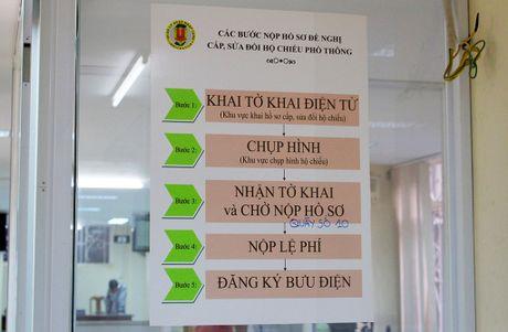 Chum anh: Huong dan cach lam ho chieu chi mat 15 phut - Anh 1