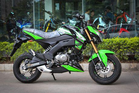 Kawasaki Z125 Pro ban dac biet gia hon 80 trieu tai Ha Noi - Anh 1