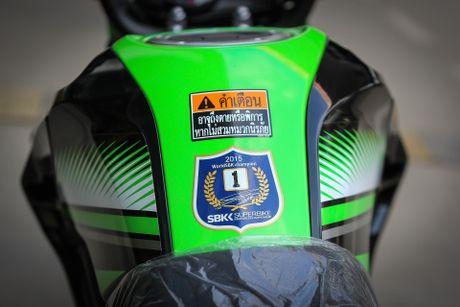 Kawasaki Z125 Pro ban dac biet gia hon 80 trieu tai Ha Noi - Anh 3