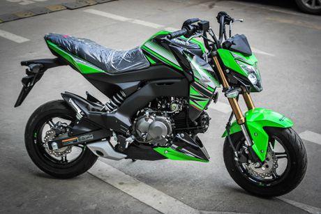 Kawasaki Z125 Pro ban dac biet gia hon 80 trieu tai Ha Noi - Anh 5