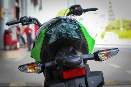 Kawasaki Z125 Pro ban dac biet gia hon 80 trieu tai Ha Noi - Anh 6