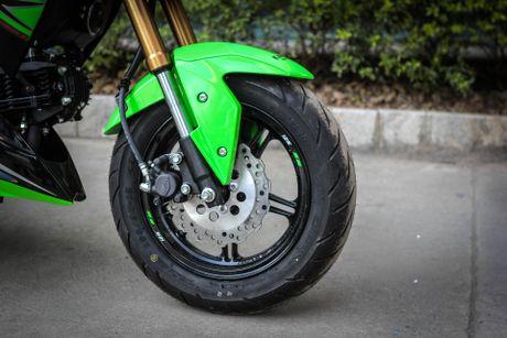 Kawasaki Z125 Pro ban dac biet gia hon 80 trieu tai Ha Noi - Anh 7