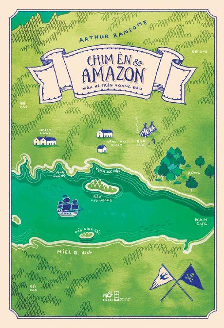 Tro ve tuoi tho voi Chim En va Amazon - Anh 1