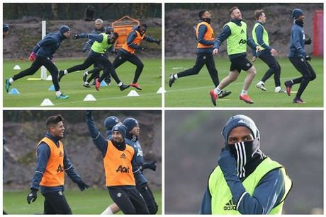 MU: Mourinho lo doi hinh ra san chien Arsenal - Anh 1