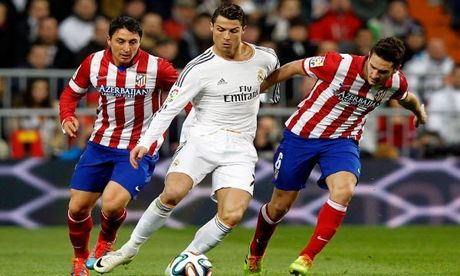 Nhan dinh, du doan ket qua ty so tran Atletico Madrid - Real Madrid - Anh 1