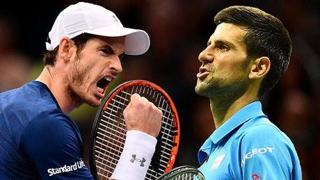 ATP World Tour Finals: Kich ban gay can nhat co the dang cho Murray va Djokovic - Anh 1