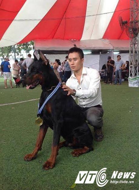 Chang trai Ha Thanh so huu trang trai cho Doberman tien ty - Anh 1