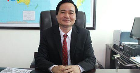 Bo truong Phung Xuan Nha gui thu chuc mung giao vien nhan ngay 20/11 - Anh 1