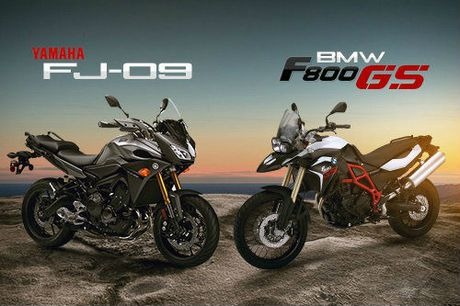 BMW F800GS Adventure va Yamaha FJ-09: Ai do van ai? - Anh 1