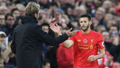 Liverpool nhan tin du, Lallana chua xac dinh ngay tro lai - Anh 1