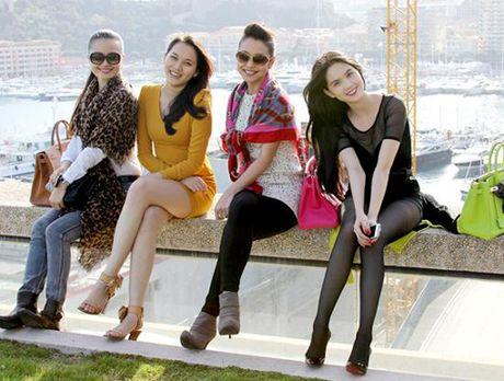 Ngam sao Viet mix khan quang co chat lu - Anh 2