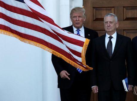 Ong Trump can nhac chon tuong ve huu Mattis la Bo truong quoc phong - Anh 1