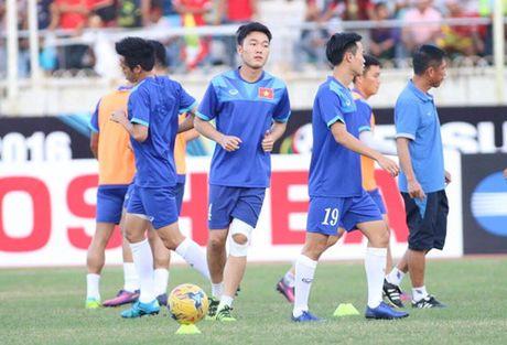 AFF Cup 2016: Cong Vinh va Van Quyet lap cong, tuyen Viet Nam ha Myanmar tai Thuwanna - Anh 12