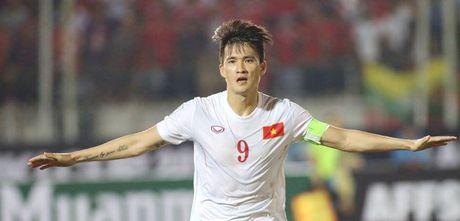 AFF Cup 2016: Cong Vinh va Van Quyet lap cong, tuyen Viet Nam ha Myanmar tai Thuwanna - Anh 1