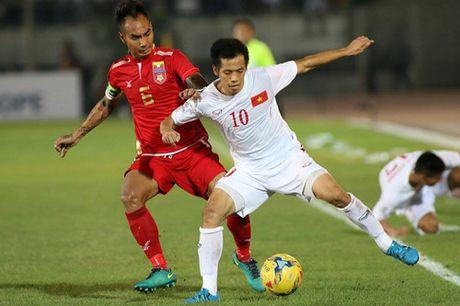 AFF Cup 2016: Cong Vinh va Van Quyet lap cong, tuyen Viet Nam ha Myanmar tai Thuwanna - Anh 3