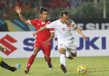 AFF Cup 2016: Cong Vinh va Van Quyet lap cong, tuyen Viet Nam ha Myanmar tai Thuwanna - Anh 4