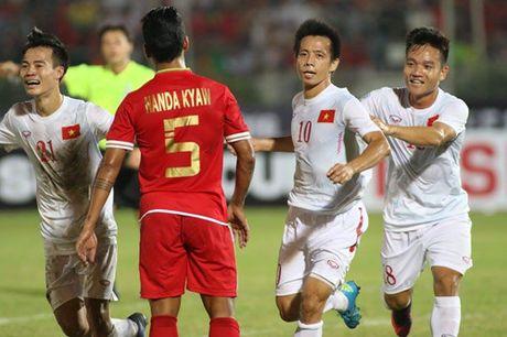 AFF Cup 2016: Cong Vinh va Van Quyet lap cong, tuyen Viet Nam ha Myanmar tai Thuwanna - Anh 5