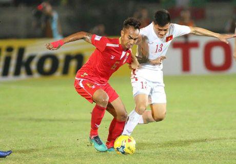 AFF Cup 2016: Cong Vinh va Van Quyet lap cong, tuyen Viet Nam ha Myanmar tai Thuwanna - Anh 7