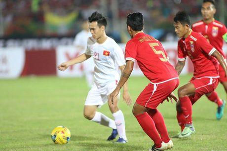 AFF Cup 2016: Cong Vinh va Van Quyet lap cong, tuyen Viet Nam ha Myanmar tai Thuwanna - Anh 8
