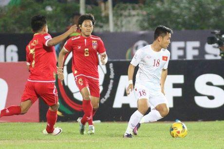 AFF Cup 2016: Cong Vinh va Van Quyet lap cong, tuyen Viet Nam ha Myanmar tai Thuwanna - Anh 9