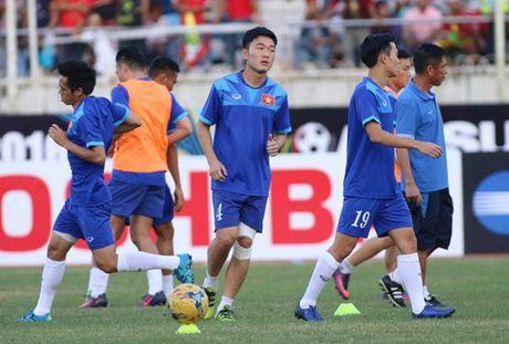 AFF Cup 2016: Cong Vinh va Van Quyet lap cong, tuyen Viet Nam ha Myanmar tai Thuwanna - Anh 10
