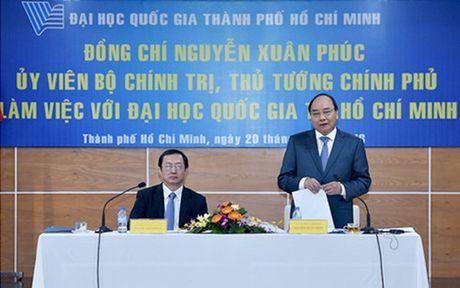 TTg Nguyen Xuan Phuc: DHQG TP.HCM phai la noi khoi nguon nhung uoc mo khoi nghiep - Anh 1