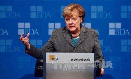 Thu tuong Duc Merkel xac nhan ra tranh cu nhiem ky thu 4 - Anh 1