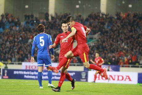 Myanmar 1–2 Viet Nam: Thang loi nhoc nhan - Anh 1