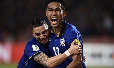 Dangda lap hattrick giup Thai Lan de bep Indonesia trong ngay ra quan AFF Cup - Anh 1
