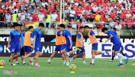 Myanmar vs Viet Nam (1-2, hiep 2): Cong Vinh lap cong - Anh 8