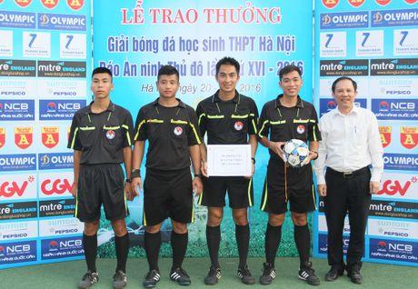 Khoanh khac vinh danh tai giai bong da hoc sinh THPT Ha Noi 2016 - Anh 14