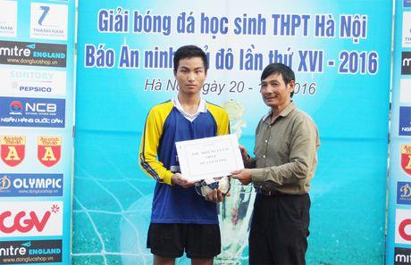 Khoanh khac vinh danh tai giai bong da hoc sinh THPT Ha Noi 2016 - Anh 15