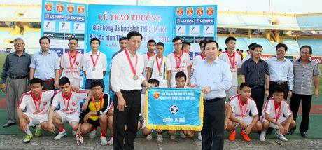 Khoanh khac vinh danh tai giai bong da hoc sinh THPT Ha Noi 2016 - Anh 8