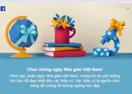 Facebook chuc mung ngay Nha giao Viet Nam 20.11 - Anh 2