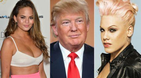 Yeu cau doan kich Broadway xin loi, ong Donald Trump bi sao Hollywood phan ung - Anh 1