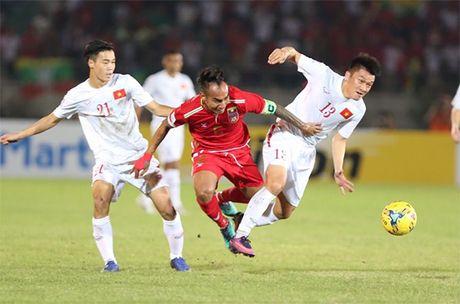 Cong Vinh ghi ban quyet dinh, tuyen Viet Nam danh bai Myanmar - Anh 2
