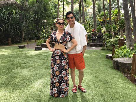 'Bup be' Thanh Thao mac ao tam khoe duong cong sau quyet tam giam 6 kg - Anh 5