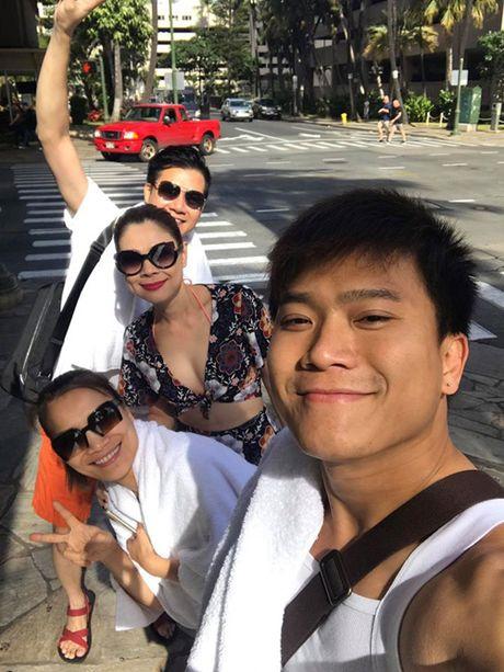 'Bup be' Thanh Thao mac ao tam khoe duong cong sau quyet tam giam 6 kg - Anh 9